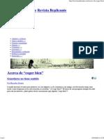 "Acerca de ""Coger Bien"" - Revista Replicante"