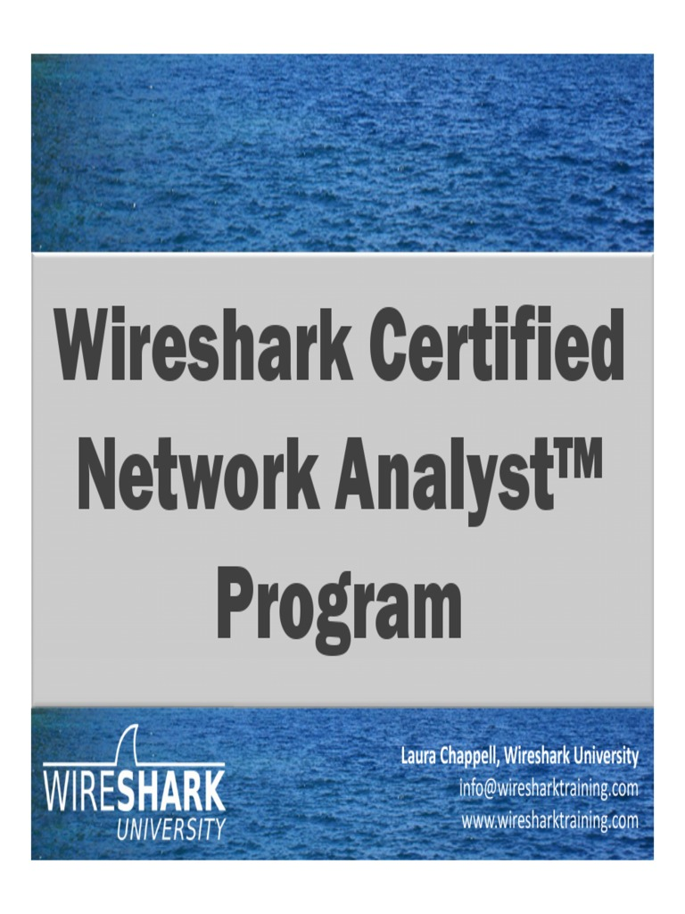 B 8 Chappell Wireshark Certification Domain Name System