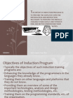 Soft Skills Induction Program