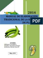 Manual Harina de Plátano