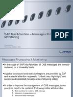 SAP MaxAttention – OSS Message Processing+Monitoring