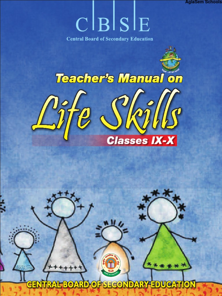 CBSE Class IX Teachers Manual for Life Skills | Adolescence | Learning