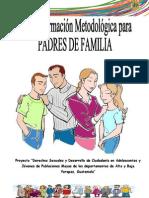 Guía Metodológica Para Padres de Familia Mayo