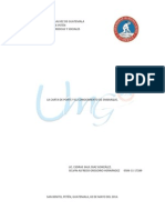 La Carta de Porte y El Conocimiento de Embarque