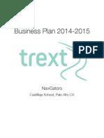 trext business plan