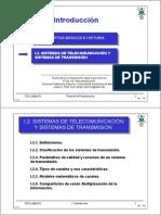 Tema I 2 Sistemas de Telecomunicacion y Sistemas de Transmision