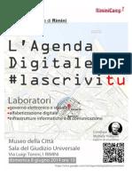 A Rimini l'Agenda Digitale la scrivi tu