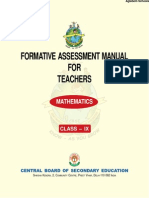 CBSE Class IX Teachers Manual for Mathematics