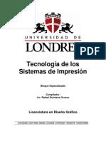 Tecnologías de Los Sistemas de Impresión