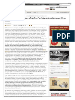 25-M- Reflexiones Desde El Abstencionismo Activo - Periódico