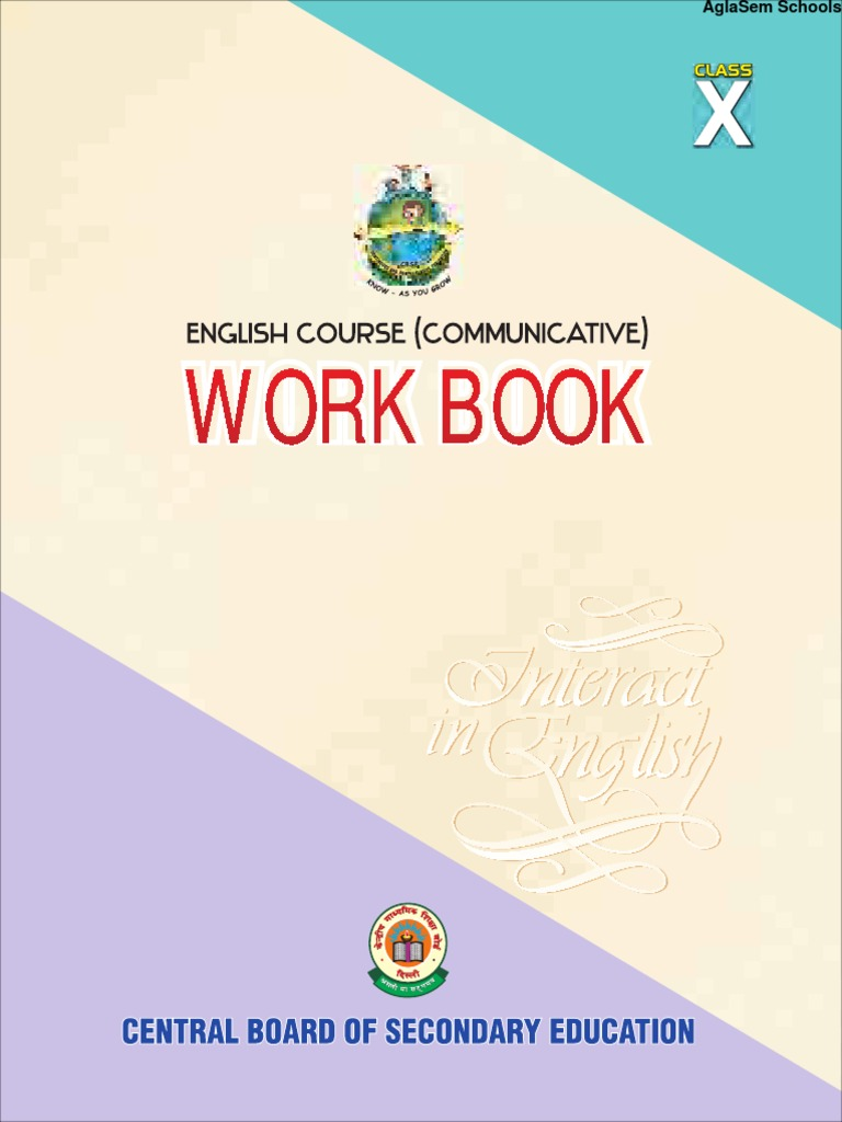 Cbse class x interact in english workbook perfect grammar cbse class x interact in english workbook perfect grammar grammatical tense fandeluxe