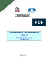 Grade Curricular Engenharia Civil UFPA