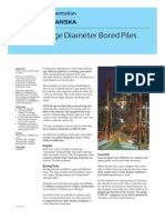 Large Diameter Bored Piles