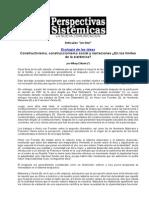 Elkaim - Constructivismo, Construccionismo Social y Narraciones - IMPRESO