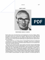Obituary - Prof. Bruce Irons