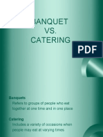 Banquet vs. Catering