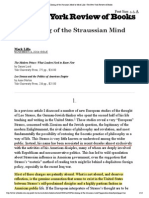 Lilla Closing of Straussian Mind 2004