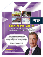 Manifesto UKIP 2014