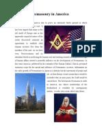 Freemasonry in America