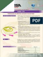 FANEL CTD - Fulminante No Eléctrico Conector Troncal Dual