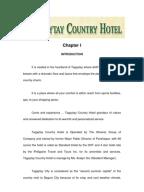hotel practicum report bachelor s degree business