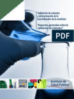 Guia Técnica 1 Validación de Métodos y Determinación de La Incertidumbre de La Medición_1