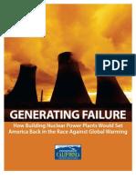 Generating Failure - Environment California