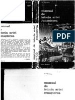 Manual de Istoria Artei Renasterea