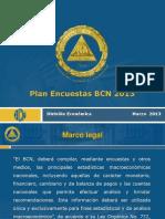 Plan de Encuestas2013
