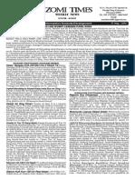 Zomi Times (17 May 2014)