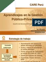 3. Aprendizajes de La Experiencia Público Privado