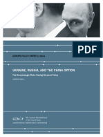 Ukraine, Russia, and the China Option