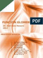 Función Glomerular y Tubular 2014