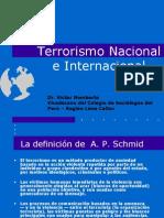 Terrorismo Nacional e Internacional