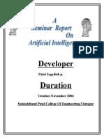 REPORT AI
