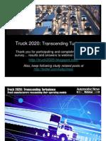 AutoNews IBM Truck 2020 Webinar Presentation 11-13-2009