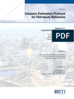 Emission Estimation Protocol for Petroleum Refineries May 2011