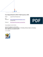 Match v6 UserManual for WorldCup2014
