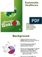 Sustainable Healthcare Presentation