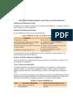 Catalogación Publicaciones periódicas