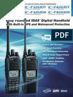 Radio Portatil IC-F3261DS