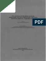 Baroni B. and Biagi P (eds.) 1997 - Excavations at the High Altitude Mesolithic Site of Laghetti del Crestoso (Bovegno, Brescia - Northern Italy). Ateneo di Brescia, Accademia di Scienze, Lettere ed Arti.
