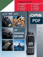 IC-F3161D Brochure Es