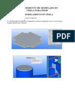Procedimiento Tekla-pdms Standar