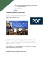 Informe Femicidios 2013