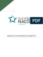 Manual de Normas e Projetos -- Shopping Nações Limeira - Sp