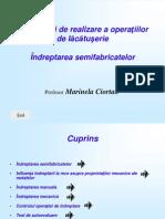 Tehnologii de Realizare a Operatiilor de Lacatuserie