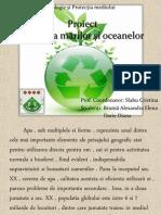 Proiect ecologie-poluarea in mari si oceane