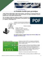 Fabricacion de Paneles Frontales Para Electronica