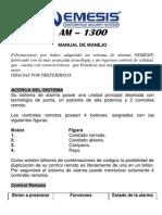Nemesis UG Alarma Moto AM-1300